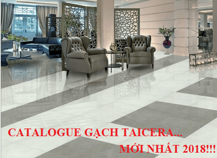 Catalogue gạch Taicera