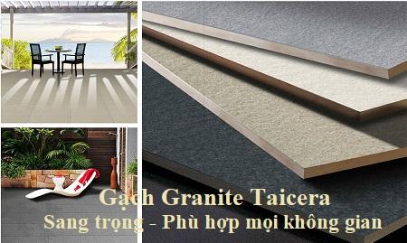 Gạch granite Taicera sang trọng, phù hợp với mọi không gian