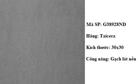 Gạch lát nền 30x30 Taicera G38928ND