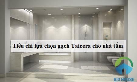 Gạch ốp nhà tắm Taicera – Cách phối màu  và TOP mã gạch Đẹp nhất