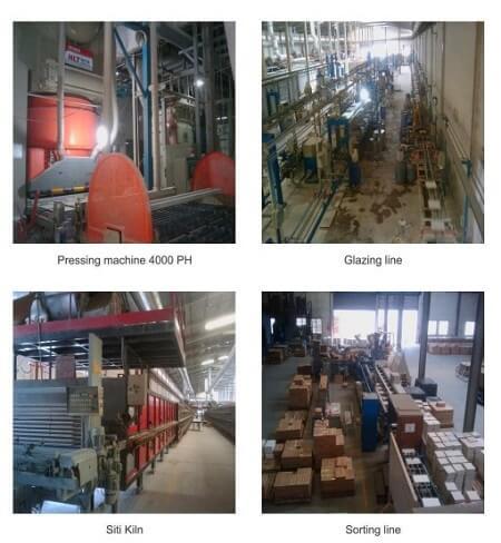 Quy trình sản xuất trong nhà máy gạch taicera