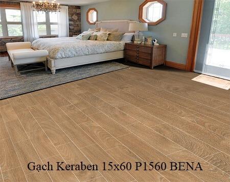 Gạch giả gỗ Keraben p1560 bena