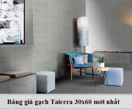 Báo giá gạch Taicera 30×60 mẫu HOT – Chiết khấu tối đa 2020