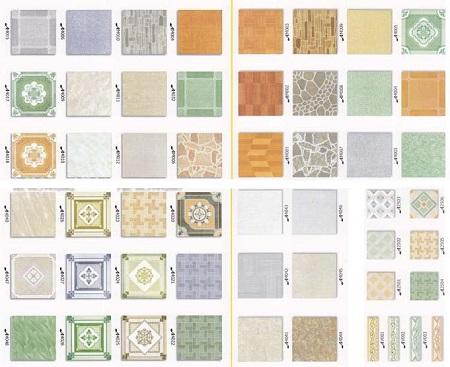 Gạch Ceramic đa dạng mẫu mã