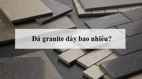 Gạch đá granite dày bao nhiêu? Mẹo chọn độ dày Phù hợp Vị trí