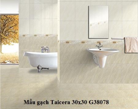 Mẫu gạch lát nền WC 30x30 chất lượng cao