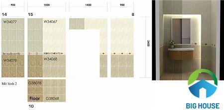 TOP mẫu gạch lát nền WC Taicera 30×30 Chất lượng cao – Giá tốt