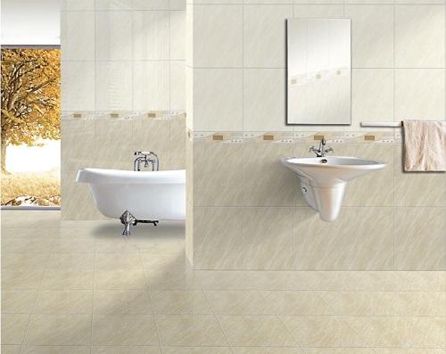 Gạch ốp tường nhà vệ sinh dày dặn hơn các loại gạch khác