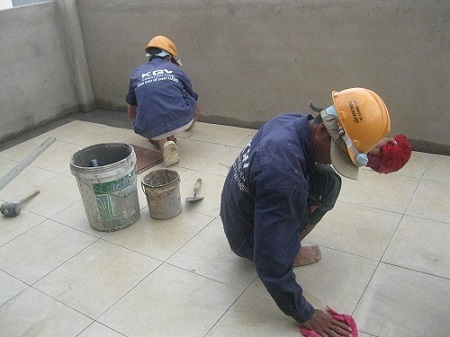 Hướng dẫn lát gạch nền nhà