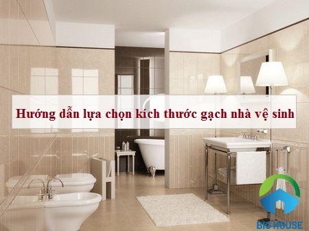 Mẹo chọn kích thước gạch ốp lát nhà vệ sinh Hiệu quả theo diện tích
