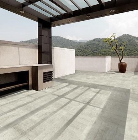 Gạch chống nóng sân thượng Taicera