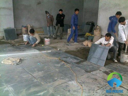 gạch lát nền tầng hầm chất lượng