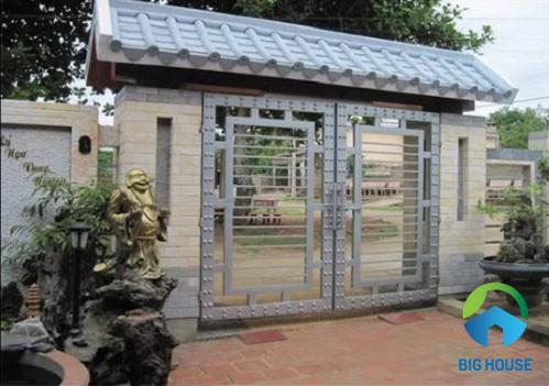 gạch ốp trụ cổng nhà nông thôn chất lượng