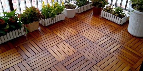 Cách lát gạch vân gỗ Keraben 15x60