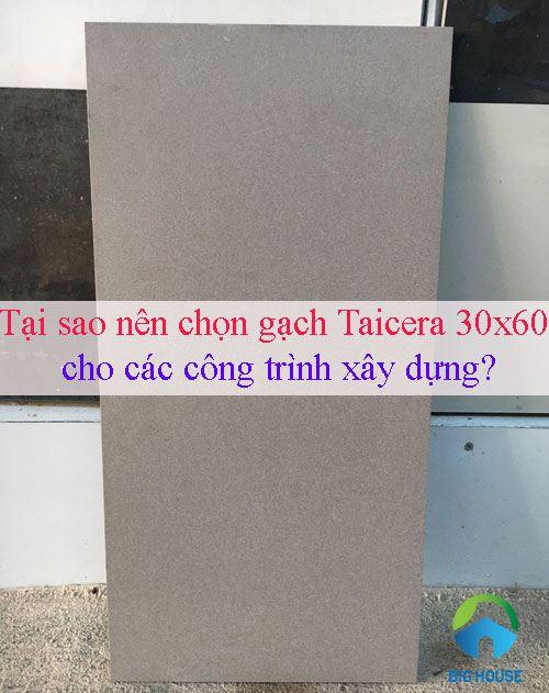 Tại sao nên chọn gạch Taicera 30×60 cho các công trình xây dựng?