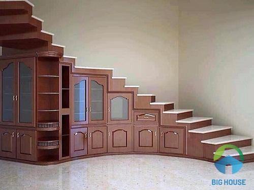 Mẫu cầu thang nhỏ gọn cho nhà diện tích hẹp