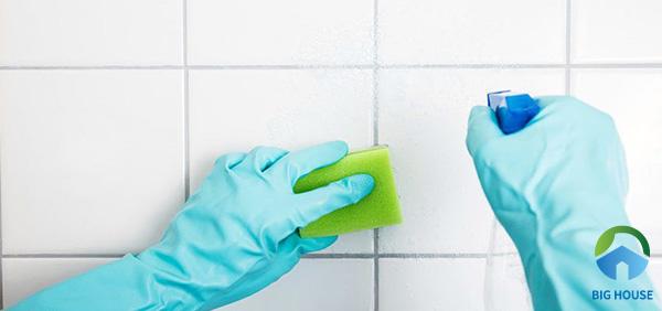 4 Cách làm sạch gạch ốp tường nhà tắm Đơn Giản trong Tích Tắc