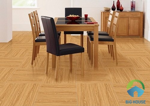 Cách lát gạch giả gỗ 60x60