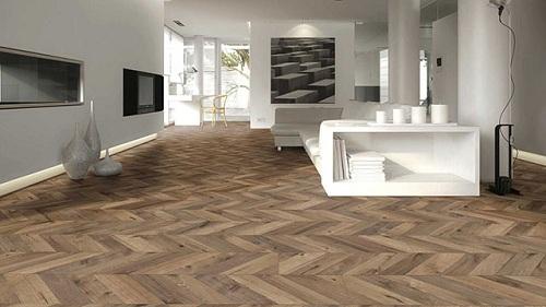 Cách lát gạch giả gỗ 15x80 độc đáo