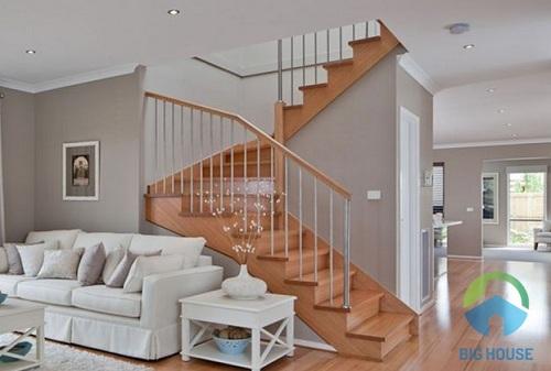 cầu thang 3 vế đơn giản