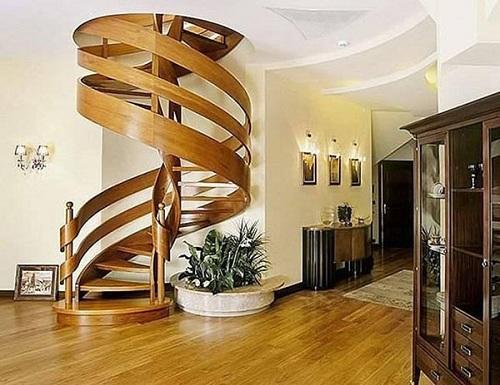 Mẫu cầu thang nhỏ gọn cho nhà hẹp