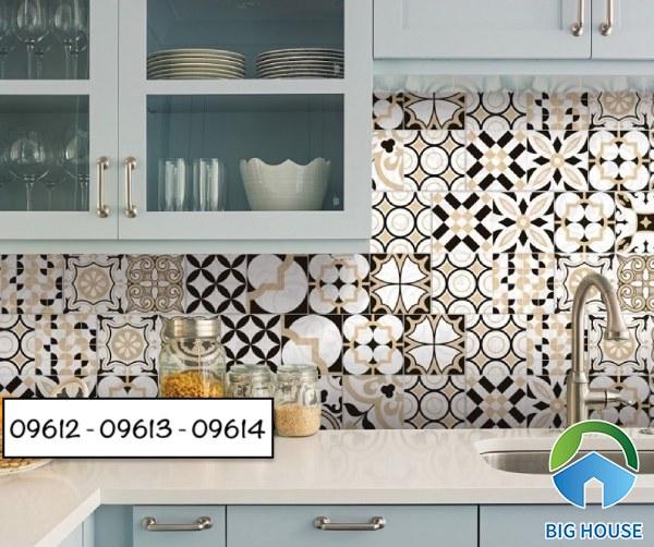Gạch bông ốp bếp Prime bộ 09612-09613-09614