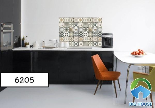 Gạch bông ốp bếp Catalan 6205