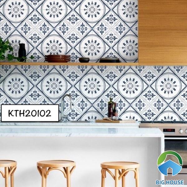 Gạch bông ốp bếp KTH20102