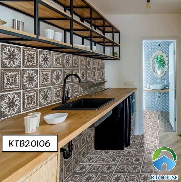 Gạch bông ốp bếp KTB20106