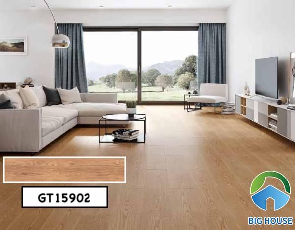Gạch giả gỗ 15x90 Viglacera GT15902
