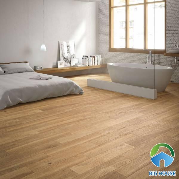Có nên ứng dụng gạch giả gỗ cho không gian?