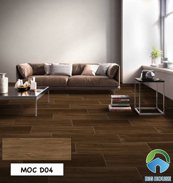 Gạch giả gỗ Viglacera MOC D04