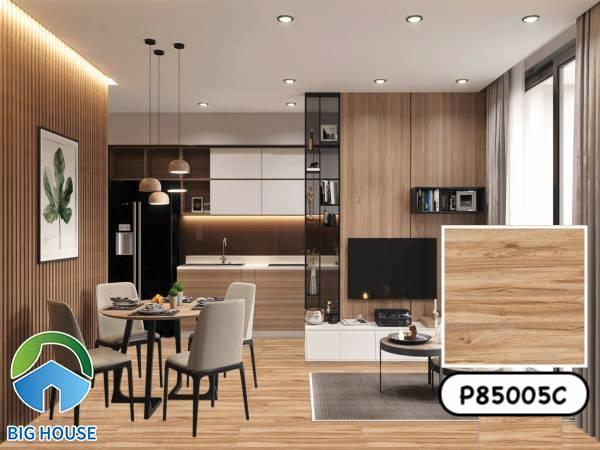 Gạch giả gỗ 80x80 Ý Mỹ P85005C