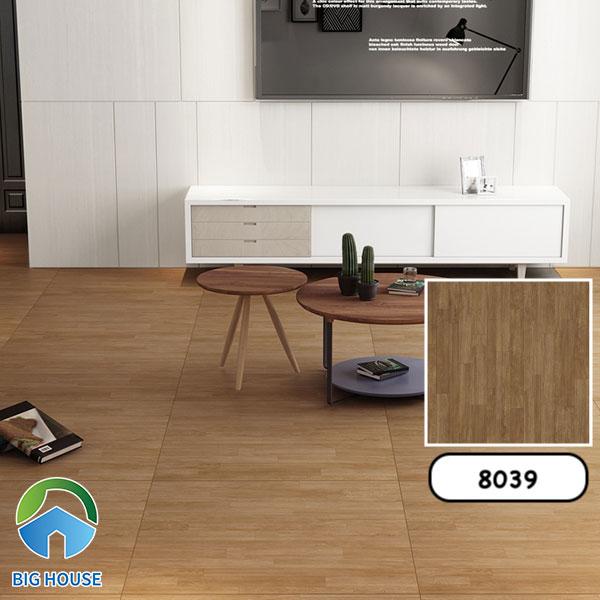 Gạch giả gỗ 80x80 Catalan 8039