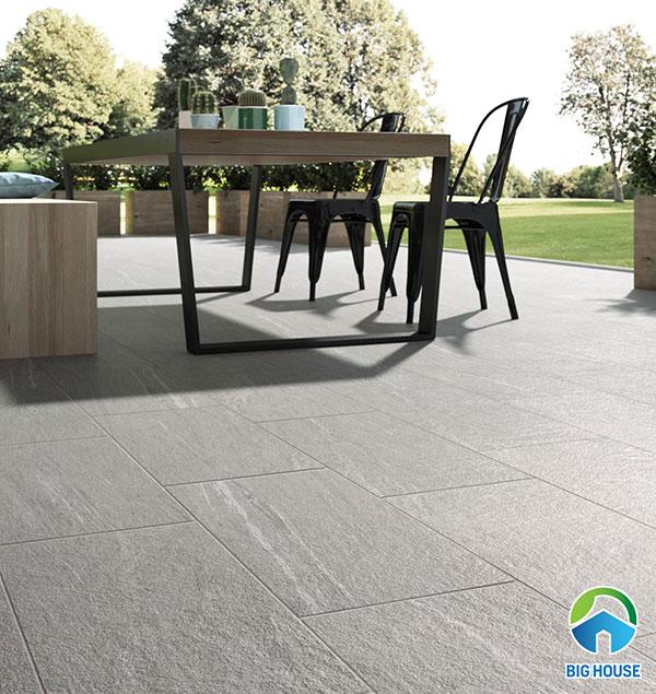 Gạch granite bề mặt khô nhám lát sân vườn
