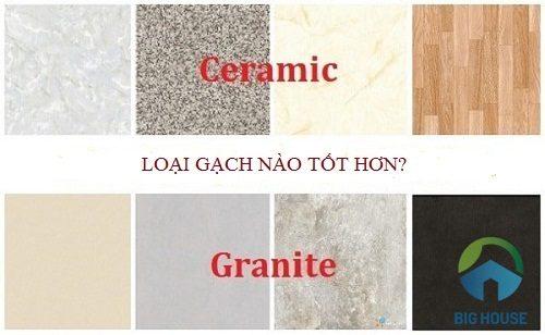 Gạch granite và ceramic loại nào tốt hơn? Giải đáp chi tiết từ Chuyên gia