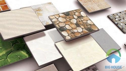 gạch granite và gạch ceramic