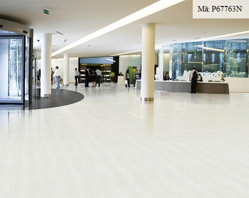 Gạch grainte 600x600 màu kem mang đến sự sang trọng cho không gian