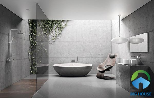 Chọn kích thước gạch hợp lý cho phòng tắm là điều cần thiết