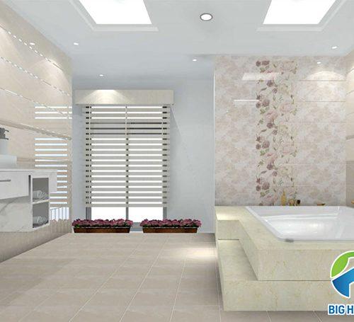 18 Mẫu gạch lát nền nhà tắm chống trơn Đẹp kèm Cách chọn