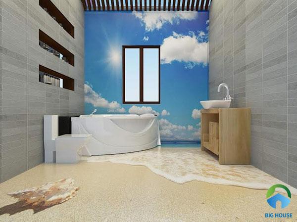 20+ Mẫu gạch lát nền nhà tắm 3D Chống Trơn – Ấn Tượng 2021