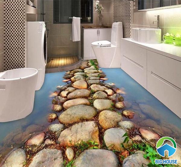 gạch lát sàn nhà tắm