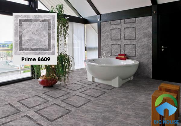 Gạch lát nền Prime 8609 là một sự lựa chọn tuyệt vời cho phòng tắm, nhà vệ sinh