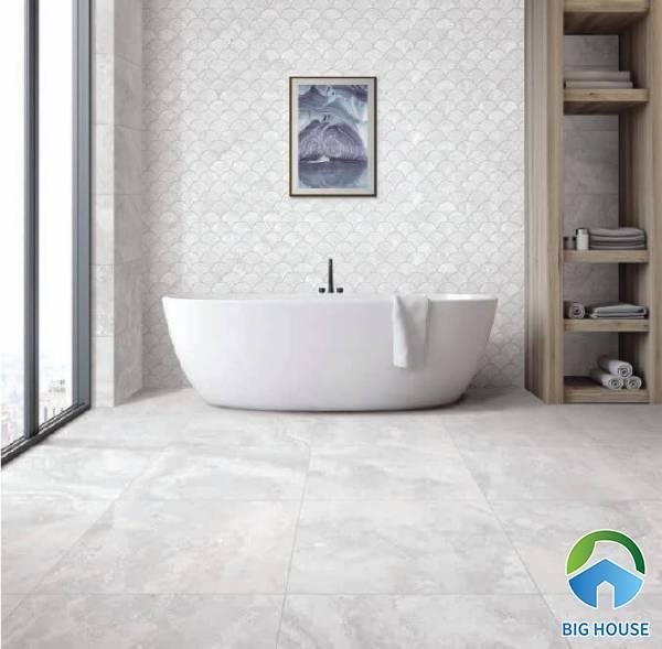 Kinh nghiệm ứng dụng gạch lát nền nhà tắm đạt thẩm mỹ cao