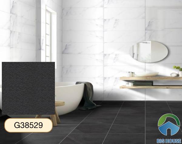 Gạch lát nền nhà tắm màu xám Taicera G38529