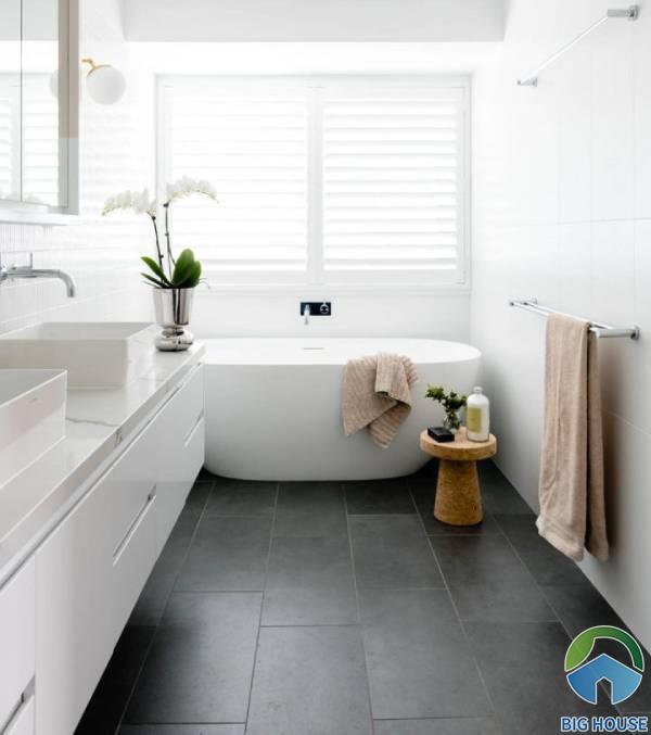 3 cách lát gạch 30x60 đạt thẩm mỹ cao cho nhà tắm, nhà vệ sinh