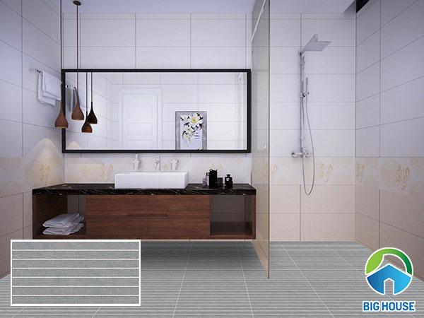 Mẫu gạch lát nền nhà vệ sinh 30x60 Đẹp, Ấn tượng