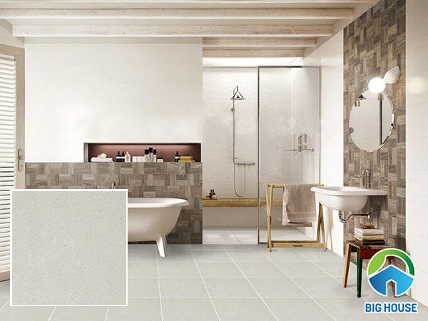 gạch lát nền nhà vệ sinh 40x40 sang trọng