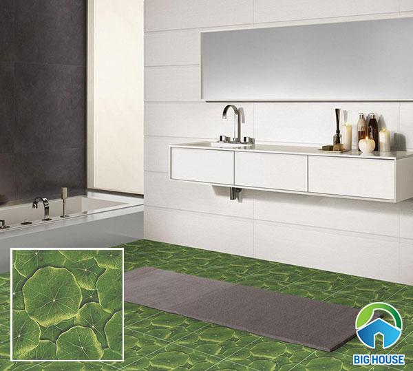 gạch lát nền nhà vệ sinh 40x40 độc đáo