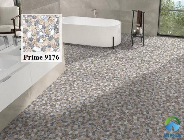 Mẫu gạch Prime 9176 màu nâu lát nền phòng tắm có kích thước 30x30